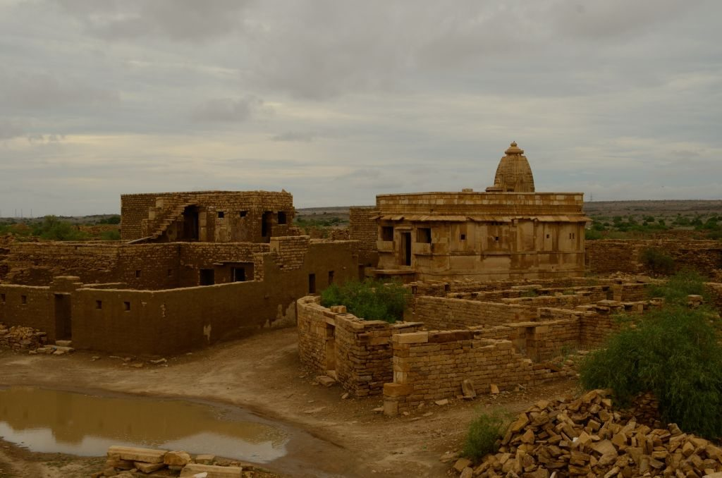 Kuldhara ghost town in Rajasthan, lone haunted temple in Rajasthan