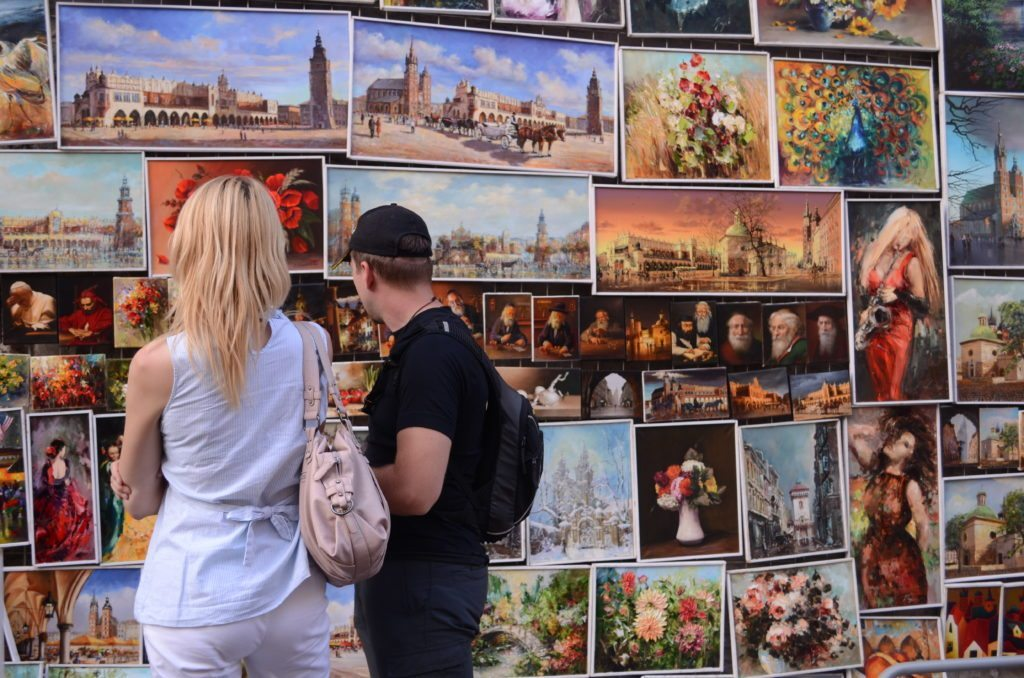 Krakow, Poland, discover city through streets, street photography