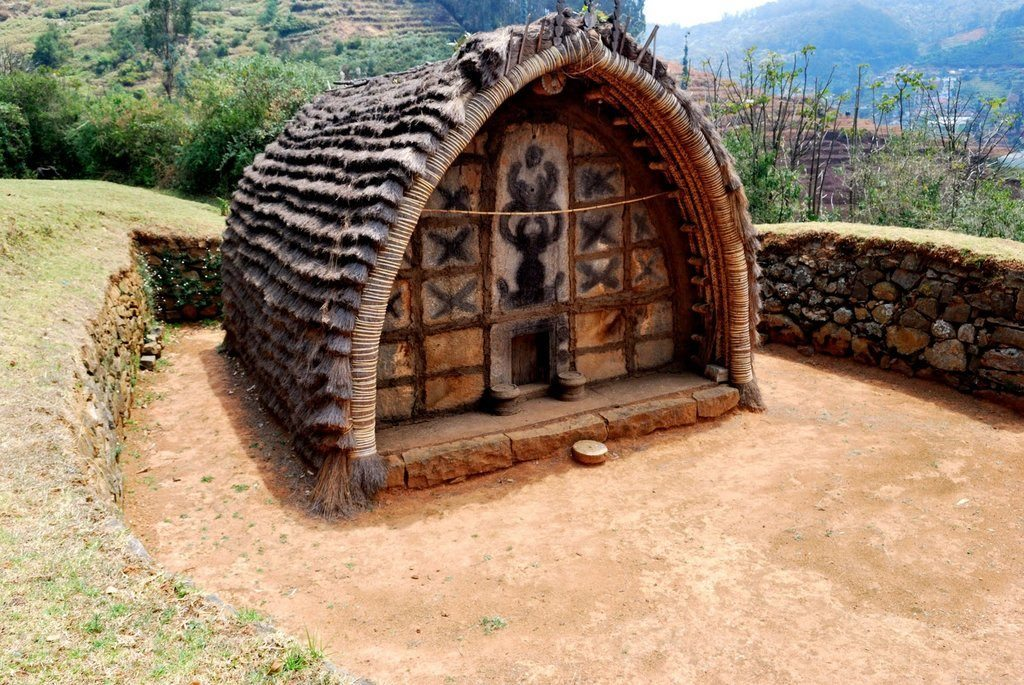 A house of the Todas in Nilgiris