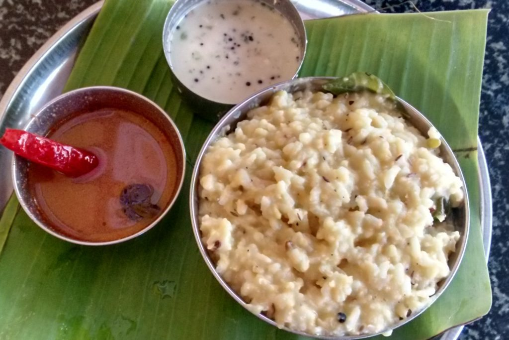 ... favourite eateries outsie Bangalore that serves Pongal is in Kadambam