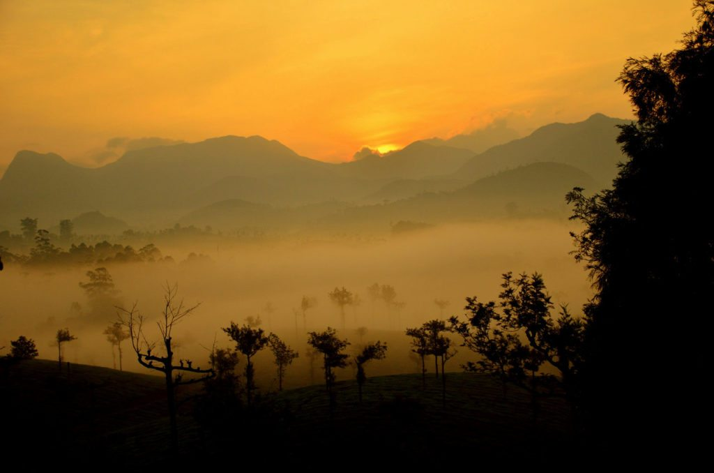 Valparai sunrise
