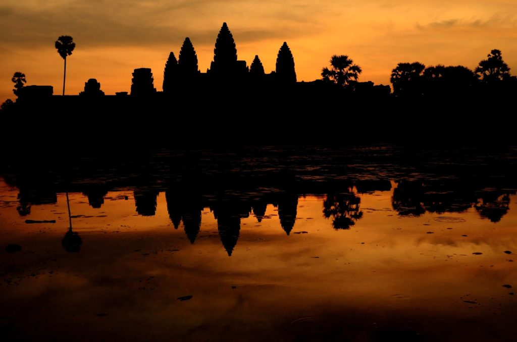 Angkorwat sunrise Siem Reap Cambodia, ten things to do in Siem Reap Cambodia