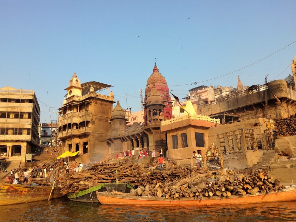 The Manikarnika Ghat in Varanasi where death is a way of life