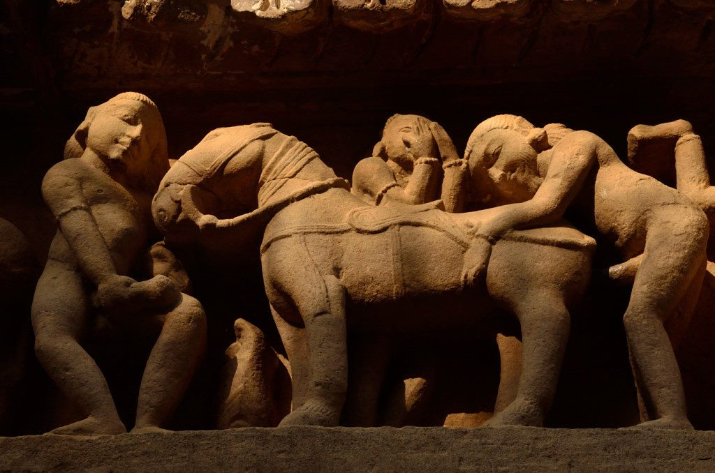 Stories and myths around the erotic sculptures of Khajuraho