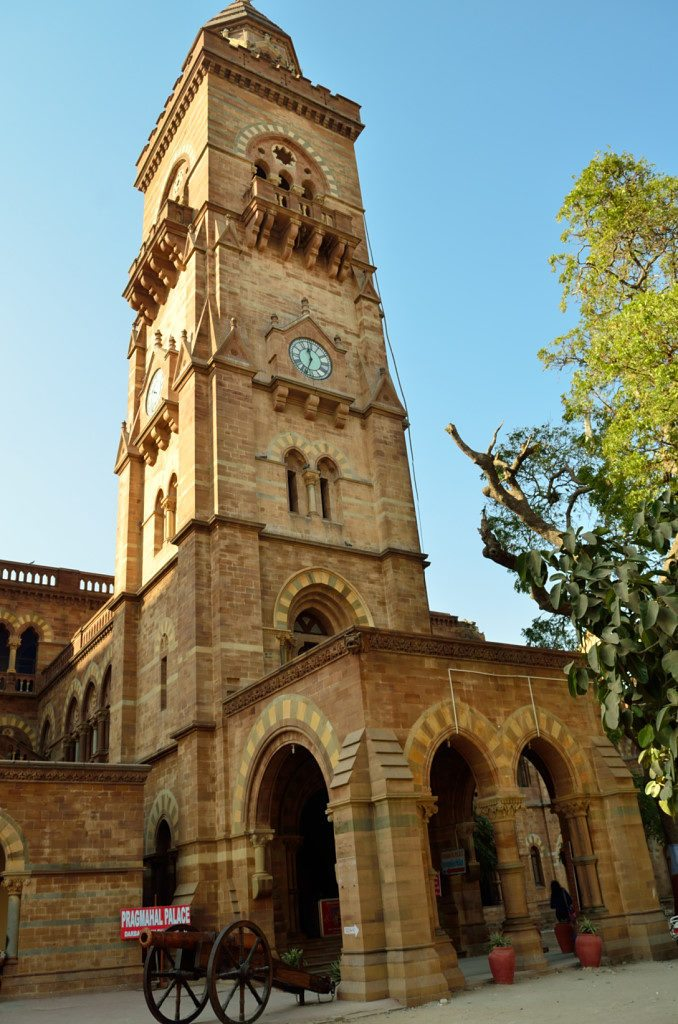 Bhuj, Prag Mahal, clock tower, places to visit in Bhuj Kutch