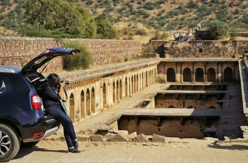 stepwell at Neemdhana in Rajasthan